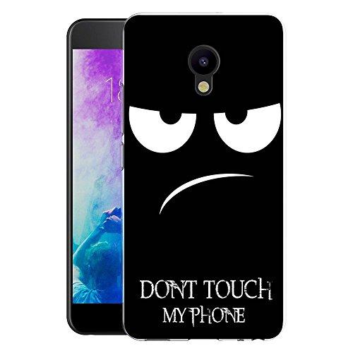 Meizu M5 Handy Tasche, FoneExpert® Ultra dünn TPU Gel Hülle Silikon Hülle Cover Hüllen Schutzhülle Für Meizu M5