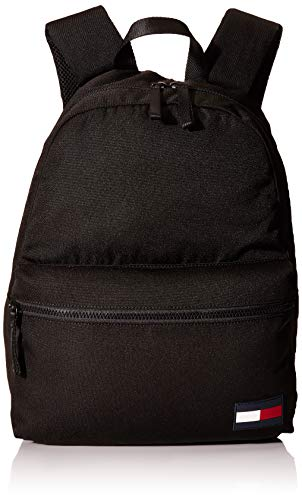 Tommy Hilfiger Tommy Core Backpack, Bolsas. para Hombre, Black, One Size