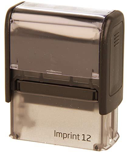 Stempel Imprint 12 inkl. individueller Textplatte (Firmenstempel, Adressstempel)