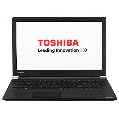 "Toshiba Satellite Pro R50-C-1E8 - Ordenador portátil de 15.6"" HD (Intel Celeron 3855U, 4 GB, 128GB SSD, Intel HD Graphics 520, Windows 10 Pro) - Teclado QWERTY Español, color Negro grafito"