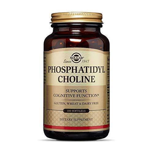Solgar Phosphatidylcholin 420mg Bioaktives Cholin Lecithin - 100 Weichkapseln