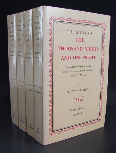 Book Of The Thousand Nights And One Night (Complete Set)
