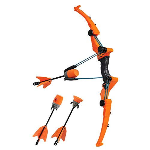 Zing Air Storm Z-Tek Bow - Blue - Foam Toy Bow and Arrow Set - Fun Outdoor and Backyard Toy - Shoots Over 125 Feet!
