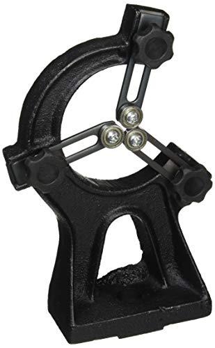 Holzstar feststehende Lünette (Spitzenhöhe 185 mm, für lange Werkstücke, für Drechselbank DB 900), 5931050
