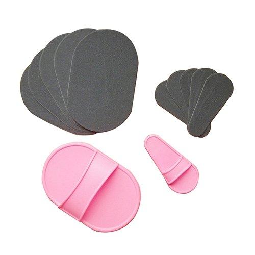 Gemini_Mall® Peeling- und Haarentfernungs-Pads für glatte Haut, für Arme, Beine und Gesicht, Set