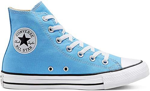 Converse Chucks CTAS HI 166706C Blau, Schuhgröße:36
