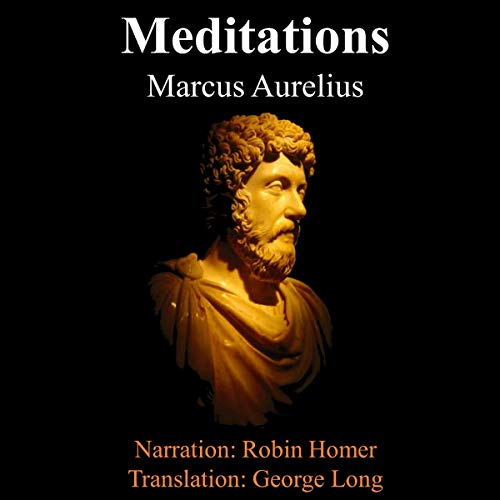 『The Meditations of Marcus Aurelius』のカバーアート