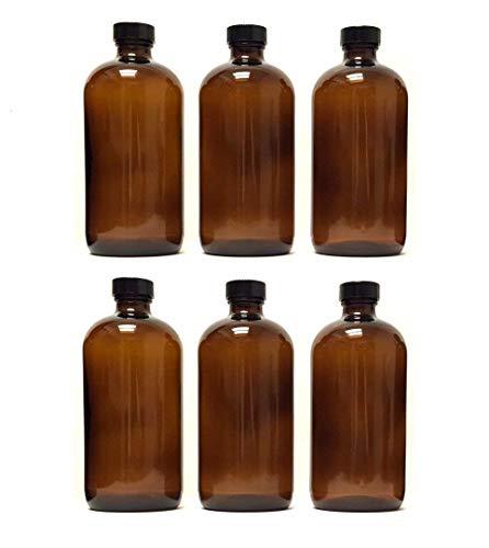 8 oz Amber Bottle