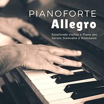 Pianoforte Allegro - Sottofondo Violino e Piano per Serata Disinvolta e Rilassante