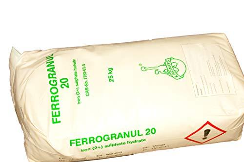 25 kg Eisendünger 20 % Eisen Sulfat