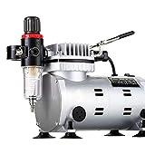 Zinniaya Aerógrafo pintado Pintura de pared Bomba de aire Interruptor automático Bomba de aire portátil Jtc20 Compresor de aire silencioso sin aceite