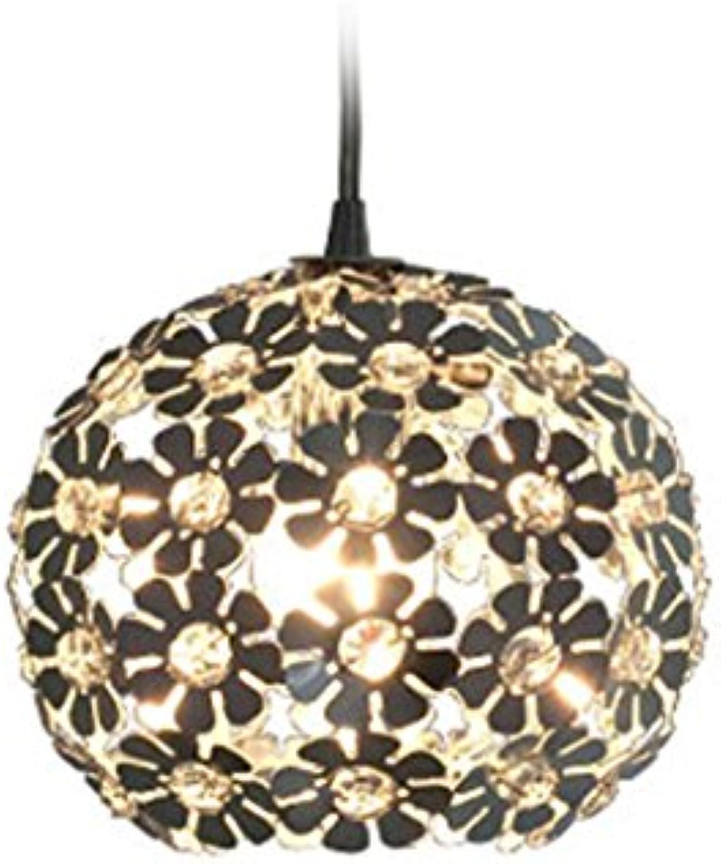 Modern Deckenlampe Kristall-Kronleuchter, kreative Persnlichkeit Restaurant Kronleuchter Moderne einfache Esszimmer Lichter Bar Lampe Balkon Schlafzimmer (Farbe   A)