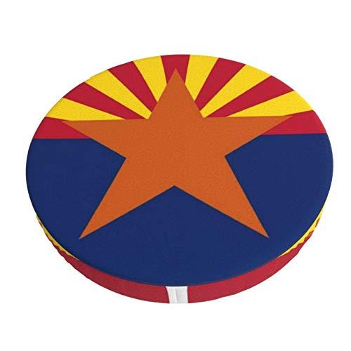 AEMAPE Barhocker Schonbezüge Hockerabdeckung, Arizona State Flag American Mojo Barhocker Sitzbezüge Elastic Hocker Kissen Schonbezug 12 Zoll