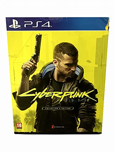 USA OFFICIAL Cyberpunk Collectors' Edition PS4 Lingua Inglese Figure STEALBOOK ARTBOOK