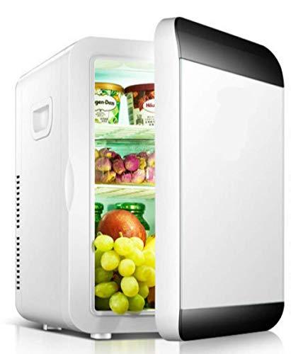 20L Kleiner Kühlschrank Mini-Schlafsaal Eintüriges Kleines Haushaltsauto Dual-Use-Kühlschrank Kühlschrankwärmer