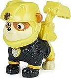 La Pat' Patrouille-6059490 Figura Coleccionable de Ruben Moto Pups con Insignia de policía, para niños a Partir de 3 años, Multicolor (Spin Master 6059490)