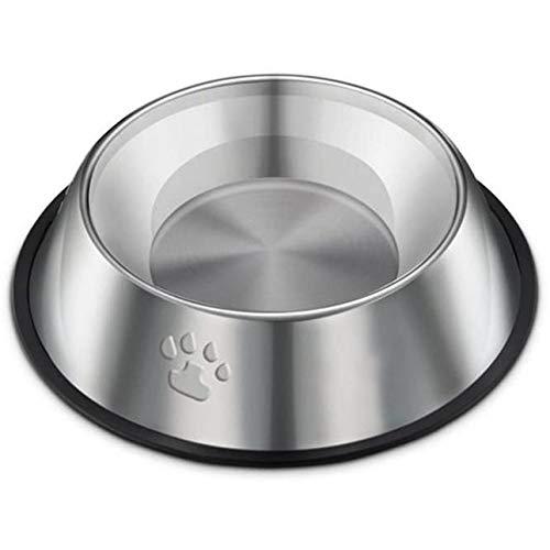 Ballylelly Footprint Printing Edelstahl Hundenapf Hundefutter Utensilien Hundenapf Rutschfeste Hundenapf Hundenapf Hundenapf