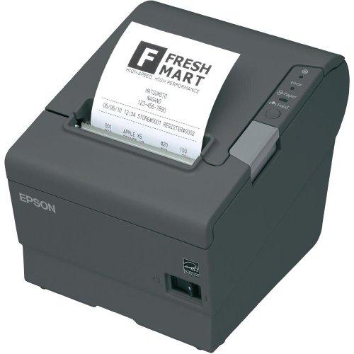 Epson Imprimante de Tickets de Caisse TM-T88V Thermique directe Noir 180 x 180 dpi USB, RS232