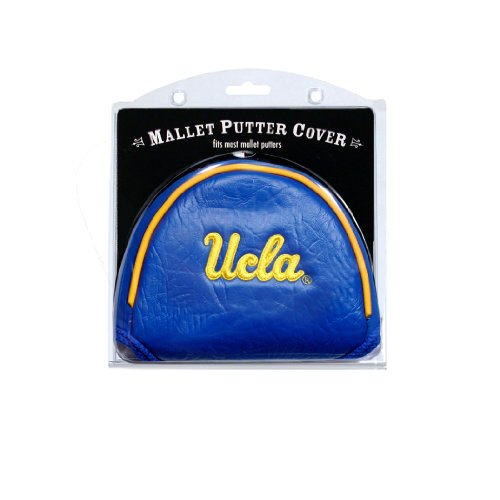Team Golf NCAA UCLA Bruins Golf Club Mallet Putter Headcover, Fits Most Mallet Putters, Scotty Cameron, Daddy Long Legs, Taylormade, Odyssey, Titleist, Ping, Callaway