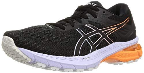 Asics GT-2000 9, Road Running Shoe Mujer, Black/Lilac Opal, 39.5 EU