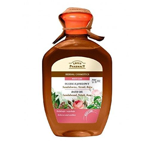 Green Pharmacy Bain Gel Douche 2 en 1 Rose et Bois de Santal 250 ml