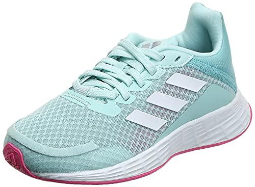 Adidas Unisex Textile Duramo Sl K Halmin/Ftwwht/Scrpnk Running Shoes - 5 UK