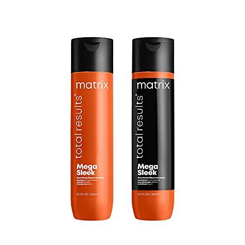 MATRIX Total Results Mega Sleek Shampoo and Conditioner,...