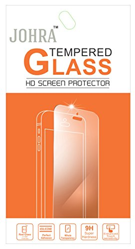 Johra Tempered Glass Screen Scratch Guard Protector for Lenovo S650