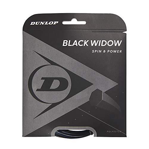 Dunlop 624851 Cordaje de Tenis, Unisex-Adult, Negro, Talla Única