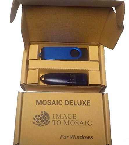 Software Mosaic Deluxe per creare mosaici partendo dalle vostre foto o clipart.