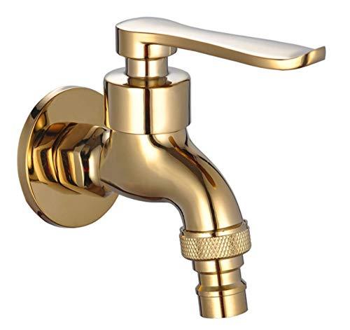 Wasserhahn Kaltwasser Spülarmaturkupfer-Gold-Wasserhahn Zur Verlängerung Der Schnellkochtopf-Düse