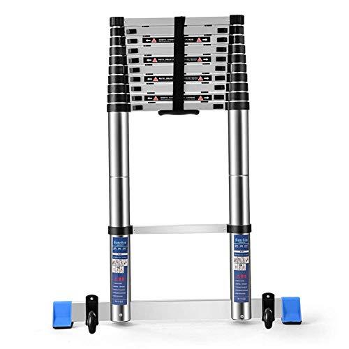 LSNLNN Scala, Extension Ladder, unilaterale Folding scaletta dritta, alluminio per uso domestico Scale, sollevamento portatile Ingegneria Ladder,scaletta dritta 4,4 milioni (14.44 ft)