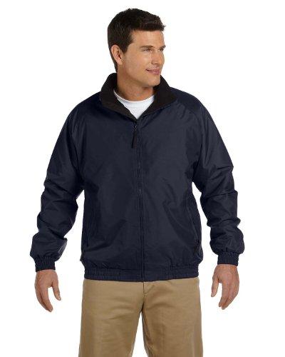 Harriton Womens Fleece-Lined Nylon Jacket (M740)