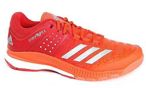adidas adidas Herren Crazyflight X Volleyballschuhe, Rot (Escarl/Plamet/Energi 000), 42 EU