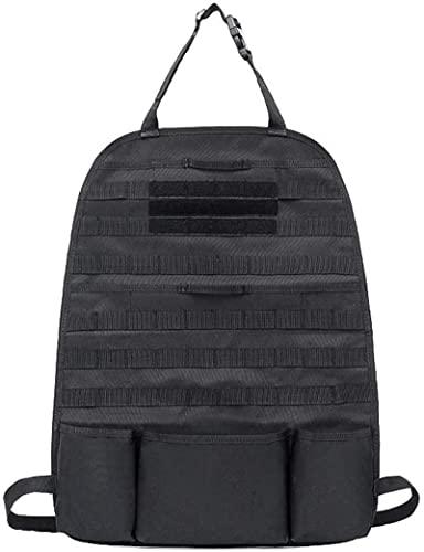 Xummy Organizador para asiento de coche, protector de asiento de coche, color negro