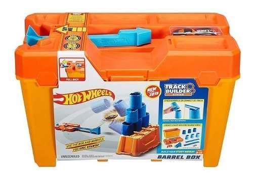 Hot Wheels Track Builder Caixa De Tambor Mattel Flk89 Gcf91
