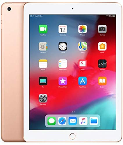 Apple iPad 9.7 (2018) 32GB Wi-Fi - Gold (Renewed)
