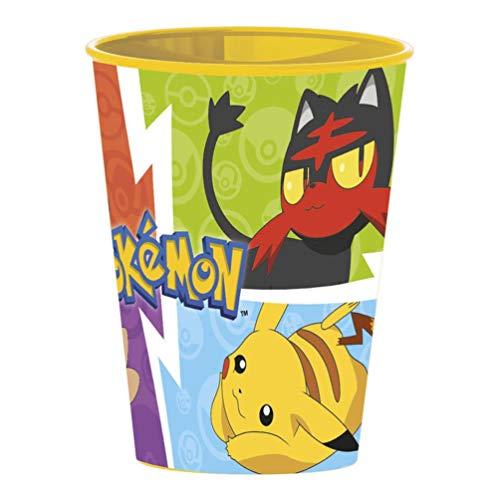 Pokemon Becher aus Kunststoff, klein, 260 ml (Stor 06807)