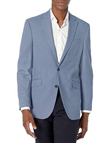 Kenneth Cole REACTION Men's Slim Fit Blazer, Navy Tic, 44R