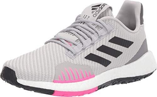 adidas Womens PulseBoost HD WNTR Fitness Running Shoes Gray 8.5 Medium (B,M)