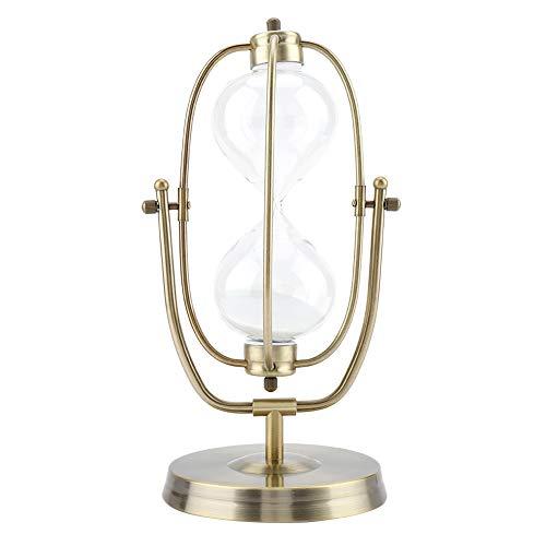 Drehbare Sanduhr aus Glas, Sanduhr, Dekoration für zu Hause, Geschenke, Bürodekoration, Ornament (Nr. 3: 60 Minuten, L)