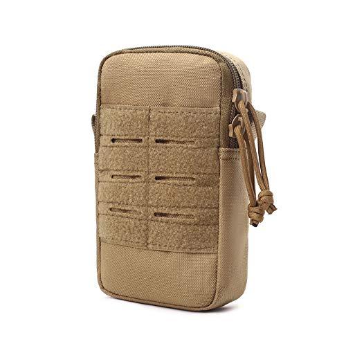 Sawpy 1000D Tactical Arm Band Bag Impermeable Protectora Bolsa de Lona multifunción para Deportes Correr Bolsa de teléfono móvil Ajustable Bolsa de muñeca para Ciclismo