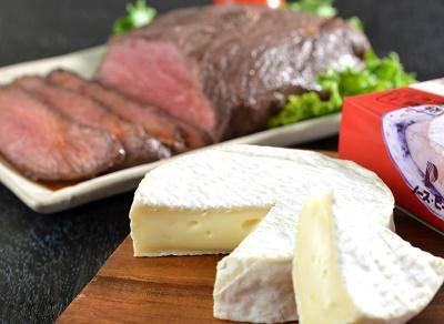 北海道カマンベールチーズ&ローストビーフ