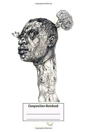 Composition Notebook: The Story About Broccoli Man Graphic Pencils Artwork Over 100 Pages for Writing