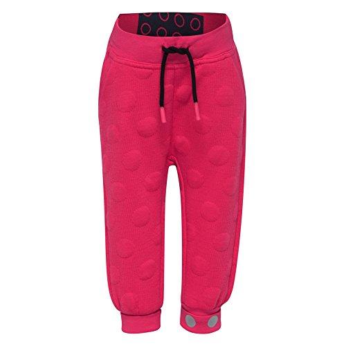 Lego Wear Duplo Girl Poppy 603-Sweathose Bas de survêtement, Rose (Dark Pink 490), 18 Mois Bébé Fille