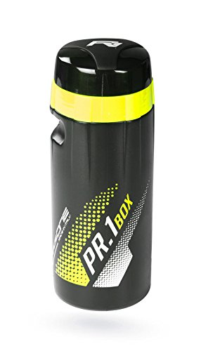 Bidon RACEONE PR1 BOX TOOLBOX para Herramientas de Bicicleta Negro Amarillo FLUOR 3946am
