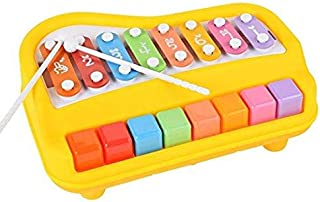 2 in 1 Piano for Kids,aPerfectLife Baby Xylophone Piano Toys Kids Educational Musical Instruments Preschool Toy Knock Play...