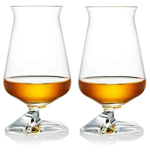 Whiskey Glass Set – Irish Tuath Glasses – Celtic Whiskey Glasses - Glass Set for Whiskey Tasting – Classic Edition