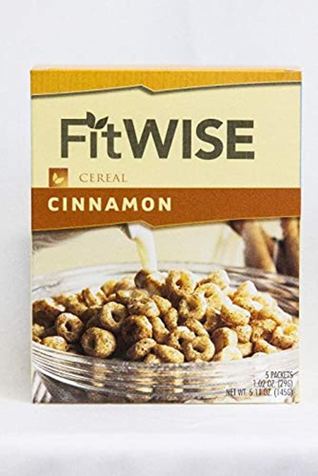 Ideal Protein Compatible FitWise High Protein Cinnamon Vanilla Cereal