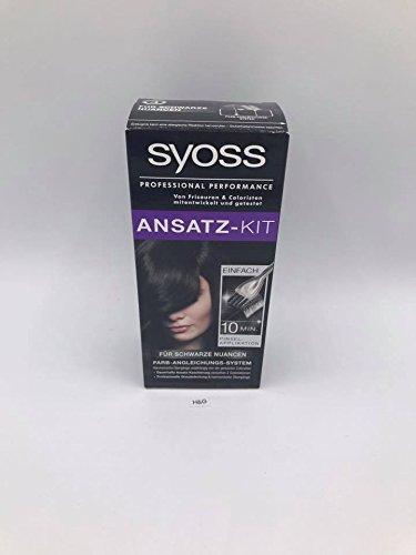 Syoss Ansatz-Kit für Schwarze Nuancen professional Performance